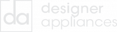 Designer Appliances Logo Grey